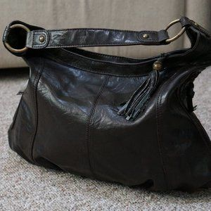 Accessorize brand Brown Leather hand bag
